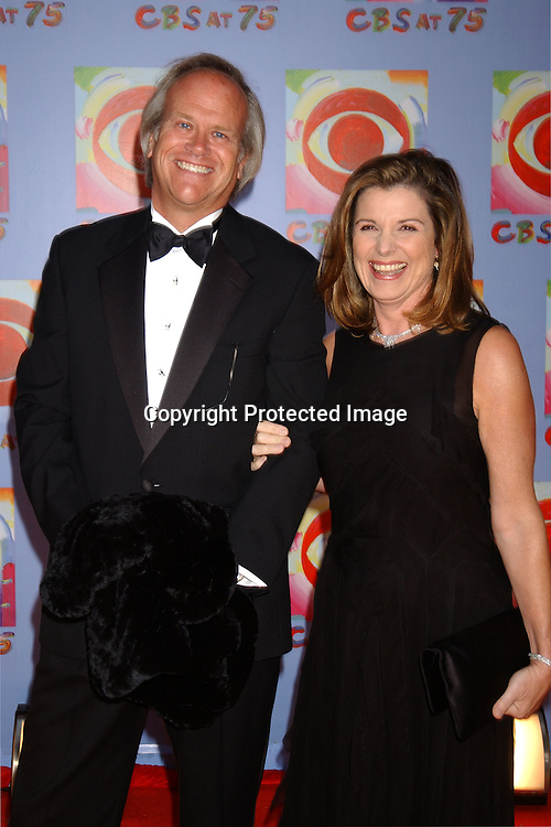 ..Susan Saint James and husband Dick Ebersole..at CBS's 75th Anniversary at The Hammerstein Ballroom in ..New York City on November 2, 2003. Photo by Robin Platzer, Twin Images