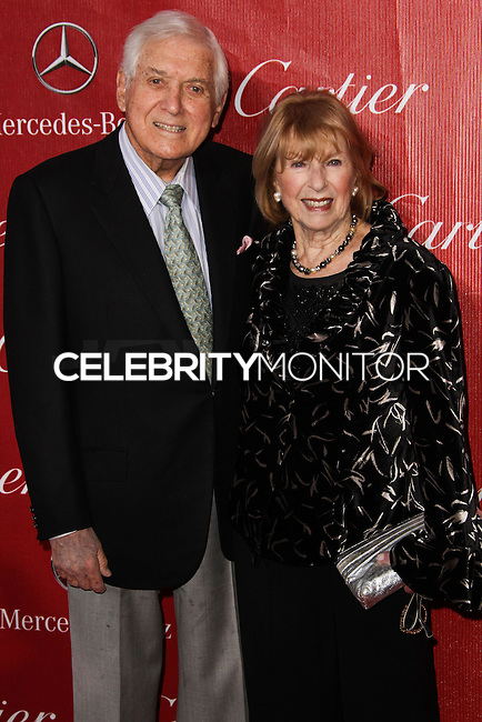 PALM SPRINGS, CA - JANUARY 04: Monty Hall, Marilyn Hall arriving at the 25th Annual Palm Springs International Film Festival Awards Gala held at Palm Springs Convention Center on January 4, 2014 in Palm Springs, California. (Photo by Xavier Collin/Celebrity Monitor)