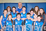 Castleisland Youths who participated at the KDYS county finals in Killarney on Sunday front row l-r: Lauren Hickey, Padraig Breen, Cathal O'Connor, Cathal Hannafin. Back row: Leanne O'Connor, Tara Howarth, Shauna O'Connor, John Mitchell, Colin McCarthy, Caitlin Nolan, Alicia O'Sullivan and Aoibhín O'Connor.......