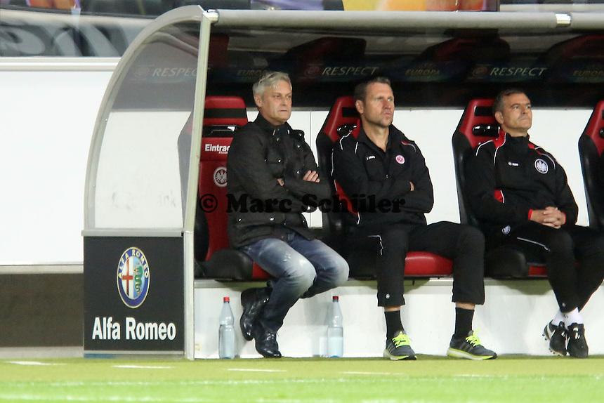 Trainer Armin Veh (Eintracht) - 1. Spieltag der UEFA Europa League Eintracht Frankfurt vs. Girondins Bordeaux