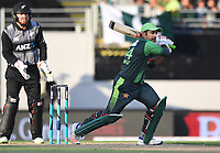Sarfraz Ahmed.<br /> Pakistan tour of New Zealand. T20 Series.2nd Twenty20 international cricket match, Eden Park, Auckland, New Zealand. Thursday 25 January 2018. &copy; Copyright Photo: Andrew Cornaga / www.Photosport.nz
