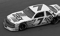 Alan Kulwicki #7 Ford Daytona 500 at Daytona International Speedway in Daytona Beach, FL on February 14, 1988. (Photo by Brian Cleary/www.bcpix.com)