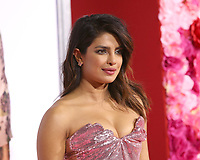 """LOS ANGELES - FEB 11:  Priyanka Chopra at the """"Isn't It Romantic"""" World Premiere at the Theatre at Ace Hotel on February 11, 2019 in Los Angeles, CA"""