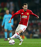 Juan Mata of Manchester United during the UEFA Europa League match at Old Trafford, Manchester. Picture date: November 24th 2016. Pic Matt McNulty/Sportimage