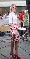 August 17, 2012 Savannah Guthrie host of  the NBC's Today Show  at Rockefeller Center in New York City.Credit:&copy; RW/MediaPunch Inc. /NortePhoto.com<br /> <br /> **SOLO*VENTA*EN*MEXICO**<br />  **CREDITO*OBLIGATORIO** *No*Venta*A*Terceros*<br /> *No*Sale*So*third* ***No*Se*Permite*Hacer Archivo***No*Sale*So*third*