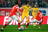 Kevin De Bruyne forward of Belgium  <br /> Saint Petersbourg  - Qualification Euro 2020 - 16/11/2019 <br /> Russia - Belgium <br /> Foto Photonews/Panoramic/Insidefoto <br /> ITALY ONLY