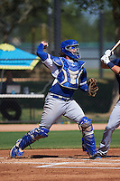 Los Angeles Dodgers Jack Murphy (88) during an instructional league game against the Milwaukee Brewers on October 13, 2015 at Cameblack Ranch in Glendale, Arizona.  (Mike Janes/Four Seam Images)