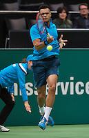 12-02-14, Netherlands,Rotterdam,Ahoy, ABNAMROWTT,Jo-Wilfried Tsonga(FRA) <br /> Photo:Tennisimages/Henk Koster