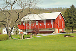 Red barn, route 44, Nippenose Valley. Greevys.