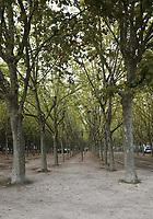 General view of Quinconces Fleuve, Bordeaux, Nouvelle-Aquitaine, France on 16.10.19.