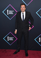 LOS ANGELES, CA. November 11, 2018: Jimmy Fallon at the E! People's Choice Awards 2018 at Barker Hangar, Santa Monica Airport.<br /> Picture: Paul Smith/Featureflash