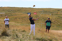 Chris Wood (ENG) on the 10th during Round 2 of the Dubai Duty Free Irish Open at Ballyliffin Golf Club, Donegal on Friday 6th July 2018.<br /> Picture:  Thos Caffrey / Golffile