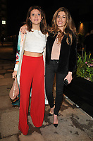 Emily Warburton-Adams and Sophie Stanbury at the Bluebird Cafe launch party, Bluebird Cafe, Television Centre White City, Wood Lane, London, England, UK, on Tuesday 10 April 2018.<br /> CAP/CAN<br /> &copy;CAN/Capital Pictures