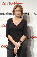 """VALERIA GOLINO.attends a photocall to promote the movie """"A Casa Nostra"""" on the eighth day of Rome Film Festival (Festa Internazionale di Roma) in Rome, Italy, October 20th 2006..half length.Ref: CAV.www.capitalpictures.com.sales@capitalpictures.com.©Luca Cavallari/Capital Pictures."""