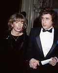 Penny Marshall and Ted Bessell on March 30, 1982 in New York City.