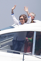 MADRID, SPAIN &ntilde; AUGUST 04: Queen Sofia at the 5th Day of the 36th King Sailing Racing Cup in Palma de Mallorca, Spain. August 04, 2016. <br /> CAP/MPI/JOL<br /> &copy;JOL/MPI/Capital Pictures