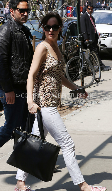 WWW.ACEPIXS.COM<br /> <br /> May 4 2015, New York City<br /> <br /> Actress Dakota Johnson was on the set of 'How to be Single' on May 4 2015 in New York City<br /> <br /> By Line: Zelig Shaul/ACE Pictures<br /> <br /> <br /> ACE Pictures, Inc.<br /> tel: 646 769 0430<br /> Email: info@acepixs.com<br /> www.acepixs.com