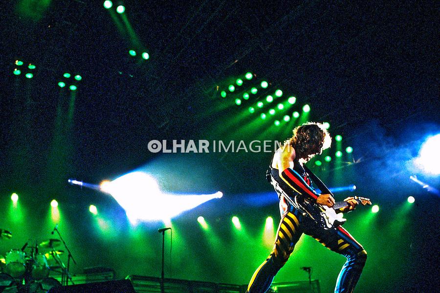 Festival de música Rock in Rio.  Banda Scorpions. Rio de Janeiro. 1985. Foto de Juca Martins.