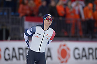 SPEEDSKATING: HAMAR: Vikingskipet, 28-02-2020, ISU World Speed Skating Championships, Sprint, 500m Men, Min Kyu Cha (KOR), ©photo Martin de Jong