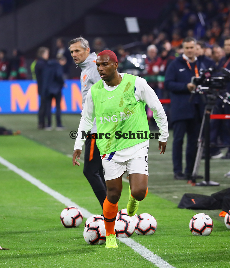 Ryan Babel (Niederlande) - 24.03.2019: Niederlande vs. Deutschland, EM-Qualifikation, Amsterdam Arena, DISCLAIMER: DFB regulations prohibit any use of photographs as image sequences and/or quasi-video.