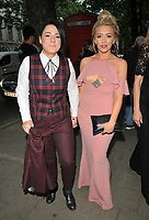Lucy Spraggan and Georgina Gordon at the DIVA Magazine Awards 2018, Waldorf Hilton Hotel, Aldwych, London, England, UK, on Friday 08 June 2018.<br /> CAP/CAN<br /> &copy;CAN/Capital Pictures