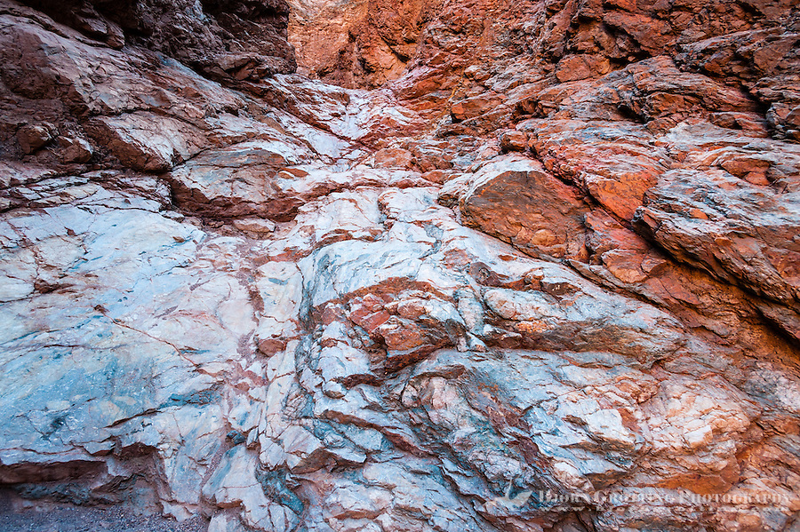 United States, California, Death Valley. Natural Bridge Canyon.