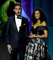 MOUNTAIN VIEW, CA - DECEMBER 3: Kara McCullough and Kevin Systrom appear on the 6th Annual Breakthrough Prize at NASA Ames Research Center on December 3, 2017 in Mountain View, California. (Photo by Frank Micelotta/NatGeo/PictureGroup)