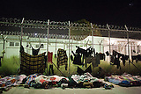 Lage im Hotspot auf Lesbos