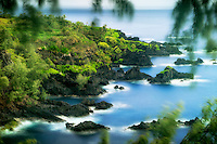 Coastline at, Kipahulu Point Park, Maui, Hawaii