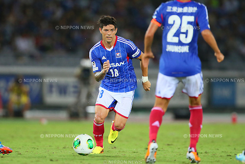 Marquinhos (F Marinos), SEPTEMBER 14, 2013 - Football / Soccer : <br /> 2013 J.LEAGUE Division 1, 25th Sec <br /> match between Yokohama F Marinos 1-1 Cerezo Osaka<br />  at Nissan Stadium in Kanagawa, Japan. (Photo by AFLO SPORT) [1156]