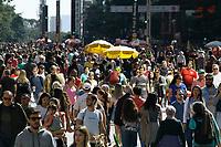 21.07.2019 - Movimentação na avenida Paulista em SP