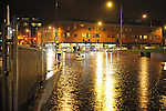 Floods at Drogheda bus station. Photo: Colin Bell/Pressphotos.ie