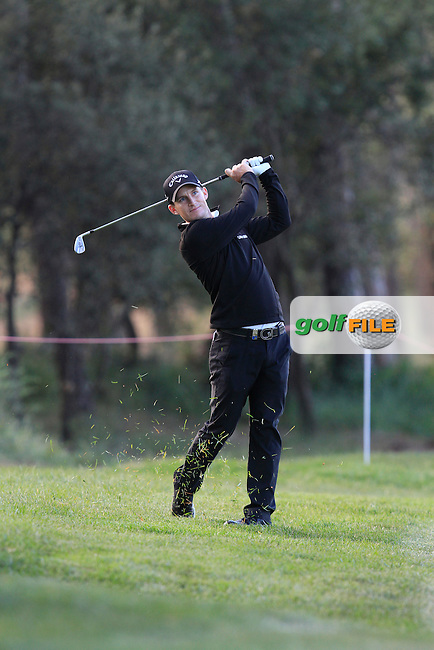 Chris Paisley (ENG) on the 7th fairway during Round 3 of the Open de Espana  in Club de Golf el Prat, Barcelona on Saturday 16th May 2015.<br />