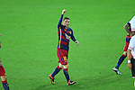 Lionel Messi (Barcelona), <br /> DECEMBER 20, 2015 - Football / Soccer : <br /> FIFA Club World Cup Japan 2015 <br /> Final match <br /> between River Plate - FC Barcelona <br /> at Yokohama International Stadium in Kanagawa, Japan. <br /> (Photo by YUTAKA/AFLO SPORT)