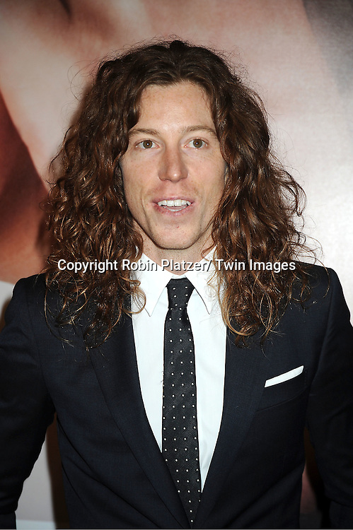 "Shaun White  arrives to The World Premiere of "" The Five-Year Engagement"" at the opening night of The Tribeca Film Festival at the Ziegfeld Theatre in New York City on ..April 18, 2012."