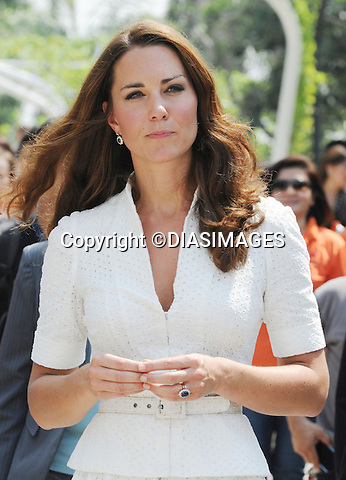 "CATHERINE, DUCHESS OF CAMBRIDGE AND PRINCE WILLIAM.visit the Gardens by the Bay in Singapore_12/09/2012.The royal couple got an ethusiastic welcome from the crowds during their walkabout..Mandatory credit photo: ©MS Pool/DIASIMAGES..""""NO UK USE FOR 28 DAYS UNTIL 10TH OCTOBER 2012""..                **ALL FEES PAYABLE TO: ""NEWSPIX INTERNATIONAL""**..IMMEDIATE CONFIRMATION OF USAGE REQUIRED:.DiasImages, 31a Chinnery Hill, Bishop's Stortford, ENGLAND CM23 3PS.Tel:+441279 324672  ; Fax: +441279656877.Mobile:  07775681153.e-mail: info@newspixinternational.co.uk"