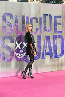 "Cara Delevingne<br /> arrives for the ""Suicide Squad"" premiere at the Odeon Leicester Square, London.<br /> <br /> <br /> ©Ash Knotek  D3142  03/08/2016"