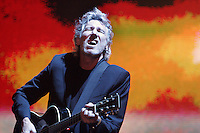 INDIO,CA - APRIL 27,2008: Roger Waters performs music of Pink Floyd during final day of Coachella Valley Music & Arts Festival in Indio, Ca., April 27, 2008.