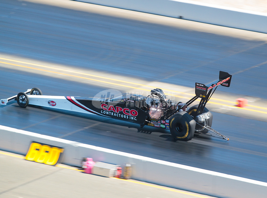 Jul 28, 2019; Sonoma, CA, USA; NHRA top fuel driver Billy Torrence during the Sonoma Nationals at Sonoma Raceway. Mandatory Credit: Mark J. Rebilas-USA TODAY Sports