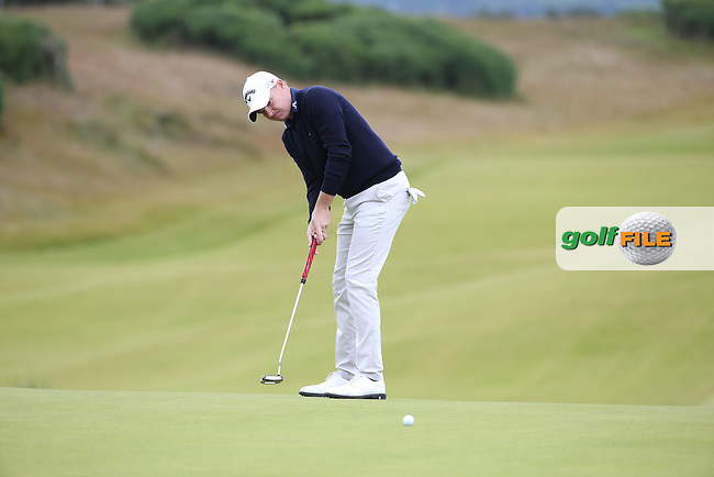 James Morrison (ENG) during Round One of the 2016 Aberdeen Asset Management Scottish Open, played at Castle Stuart Golf Club, Inverness, Scotland. 07/07/2016. Picture: David Lloyd | Golffile.<br /> <br /> All photos usage must carry mandatory copyright credit (&copy; Golffile | David Lloyd)