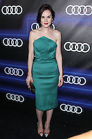 WEST HOLLYWOOD, CA, USA - AUGUST 21: Michelle Dockery arrives at the Audi Emmy Week Celebration held at Cecconi's Restaurant on August 21, 2014 in West Hollywood, California, United States. (Photo by Xavier Collin/Celebrity Monitor)