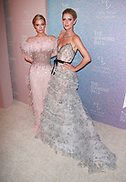 NEW YORK, NY - SEPTEMBER 13: Paris Hilton and Nicky Hilton Rothschild at the Clara Lionel Foundation&rsquo;s 4th Annual Diamond Ball at Cipriani Wall Street in New York City on September 13, 2018. <br /> CAP/MPI99<br /> &copy;MPI99/Capital Pictures