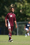 04 November 2007: Alabama A&M's Michael-Terry Turner. The Alabama A&M University Bulldogs defeated the Duke University Blue Devils 4-3 at Koskinen Stadium in Durham, North Carolina in an NCAA Division I Men's Soccer game.