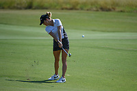 Jaye Marie Green (USA) hits her approach shot on 12 during the round 3 of the Volunteers of America Texas Classic, the Old American Golf Club, The Colony, Texas, USA. 10/5/2019.<br /> Picture: Golffile   Ken Murray<br /> <br /> <br /> All photo usage must carry mandatory copyright credit (© Golffile   Ken Murray)