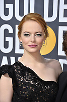 Emma Stone at the 75th Annual Golden Globe Awards at the Beverly Hilton Hotel, Beverly Hills, USA 07 Jan. 2018<br /> Picture: Paul Smith/Featureflash/SilverHub 0208 004 5359 sales@silverhubmedia.com