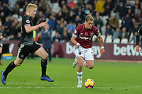 Javier Hernandez Of West Ham United during West Ham United vs Burnley, Premier League Football at The London Stadium on 3rd November 2018