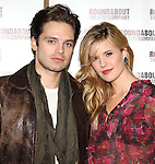 Sebastian Stan & Maggie Grace attending the Meet & Greet for the Roundabout Theatre Company's 'Picnic' at their rehearsal studios  in New York City. November 29, 2012.