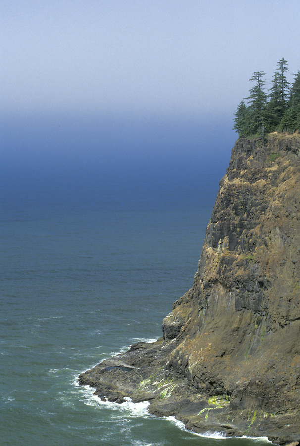 Cliff at Cape Meares State Park, Oregon