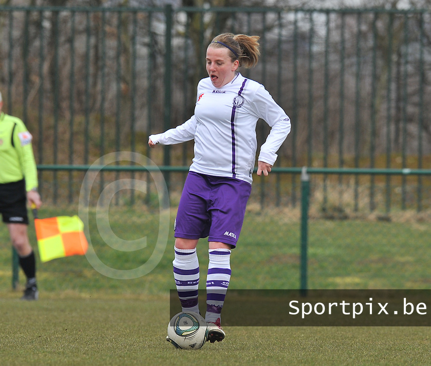 Beerschot : Lucinda Michez.foto DAVID CATRY / Vrouwenteam.be
