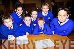 pupils of Kilocrim national school Listowel who took part in the Listowel Credit Union table quiz in the Presentation school hall on Friday night were Jermey Chute, david Sheahaan, Jack Joy, Rebecca Sparks, samual Meryler, Eddie Horgan and Con O' Gorman..
